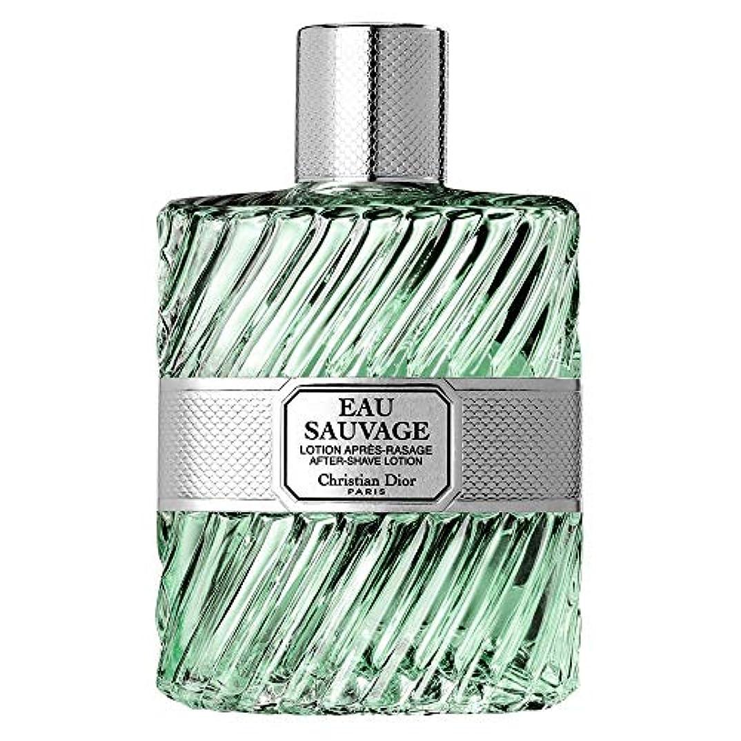同一性細部ながら[Dior] ローション100ミリリットルとしてディオールオーソバージュ - Dior Eau Sauvage AS Lotion 100ml [並行輸入品]
