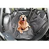 Dog Car Seat Covers,Dog Seat Cover Pet Seat Cover for Cars, Trucks, and SUV - Black, Waterproof