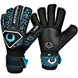 Renegade GK Triton Goalie Gloves with Removable Pro-Tek Fingersaves (Extra Durable) - Sizes 6-11, 3 Styles/Cuts (Roll, Hybrid) - 30 Day 100% Warranty - Unisex, Adult, Youth Soccer Goalies