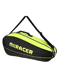 Lixadaバドミントンラケットバッグテニスラケットバッグラケットストレージバッグホルダーfor 3 Racquets