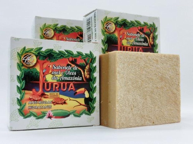 人工的な添加脇にJURUA石鹸 (大180g) 3個セット