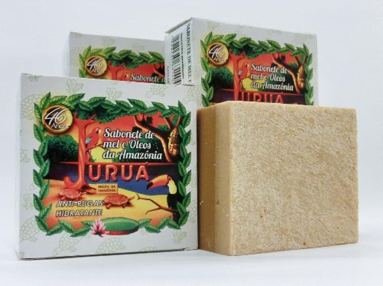 長くする連想数値JURUA石鹸 (大180g) 3個セット