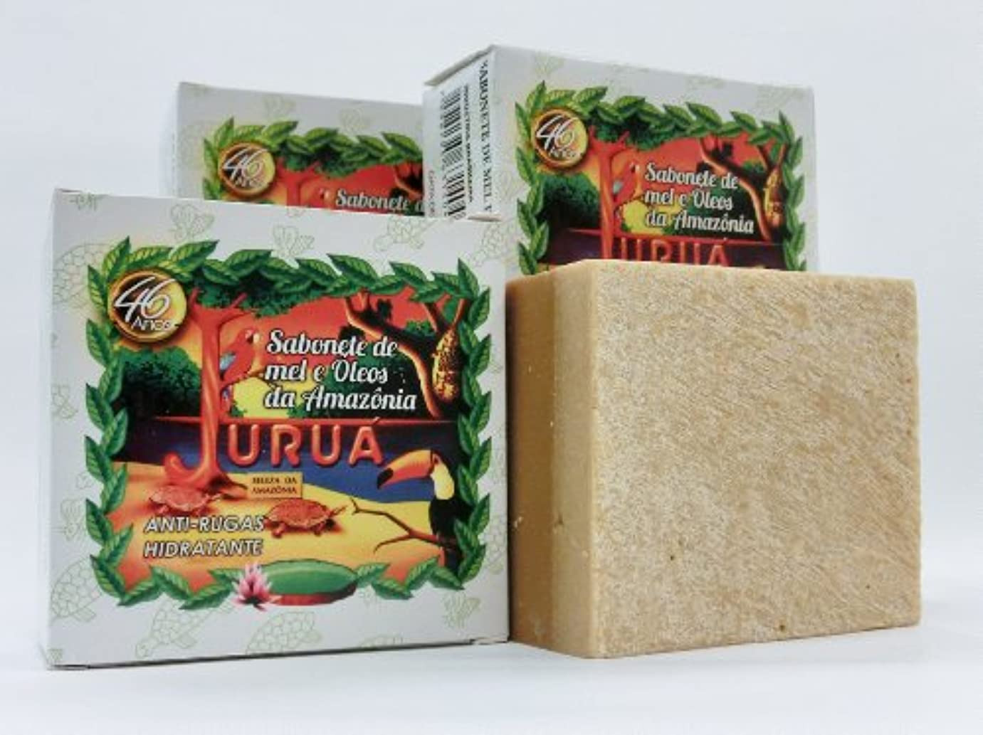 温帯緊張するカンガルーJURUA石鹸 (大180g) 3個セット