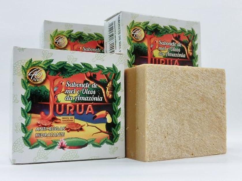 消化溶けるキャンプJURUA石鹸 (大180g) 3個セット