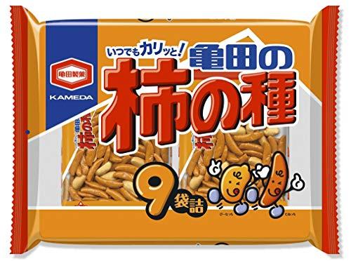 亀田の柿の種 9袋詰×12袋