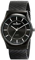 [プジョー] Peugeot 腕時計 Men's Analog Display Japanese Quartz Grey Watch 日本製クォーツ 1002GN メンズ 【並行輸入品】