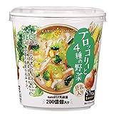 VEGE MISO SOUPカップ ブロッコリーと4種の野菜 21g ×6個