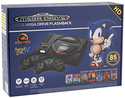 Sega Genesis Flashback HD 2017 Console セガジェネシスフラッシュバックHD 2017コンソール