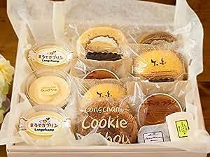 プリン シュークリーム ロールケーキ チョコ チーズケーキ 半生 ケーキ いろいろセット (ギフト 中サイズ) | longcham(ロンシャン) | ケーキ・洋菓子 通販