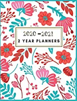 2020-2021 2 Year Planners: 2020-2021 Monthly Planner :  2 year planner 2020-2021 monthly 8.5 x 11   Planners   Planner 2020-2021   Floral Planner Monthly   24 Months Agenda Planner with Holiday    Monthly Planner and Organizer, Planner Calendar. (2020 - 2021 Two Year Monthly Calendar Planner 8.5 x 11)