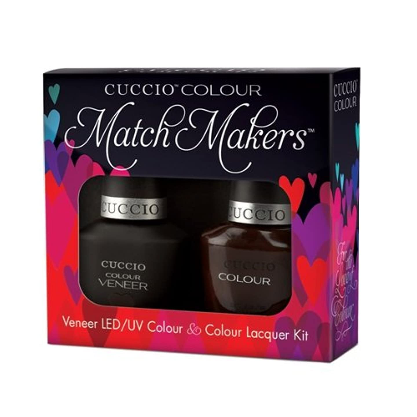 ソートねばねばエゴマニアCuccio MatchMakers Veneer & Lacquer - French Press for Time - 0.43oz / 13ml Each