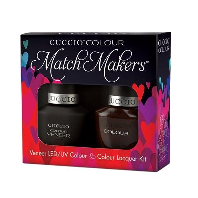 蒸し器独裁者天国Cuccio MatchMakers Veneer & Lacquer - French Press for Time - 0.43oz / 13ml Each