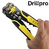 Drillpro 自動ワイヤーストリッパー オートマルチストリッパ ストリップ線径自動調整 絶縁 0.2~6.0mm2 黄色 黄色