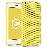 AndMesh iPhone 6s Plus ケース メッシュケース イエロー AMMSC631-YLW
