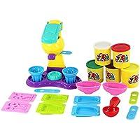 【ノーブランド 品】カラフル プラスティ アイスクリーム クリエイティブ ゲーム アクティビティセット 子供 玩具 贈り物