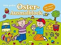 Mein grosser Oster-  Ausmalblock