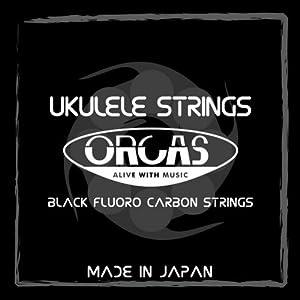 【ORCAS】 ウクレレ弦 セット OS-LGT (ライトゲージ ソプラノ コンサート用 )
