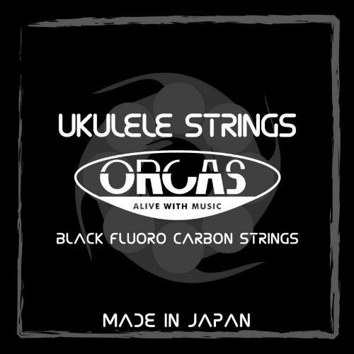 【ORCAS】 ウクレレ弦 セット OS-MED LG (ミディアムゲージ Low-G ソプラノ  コンサート用)