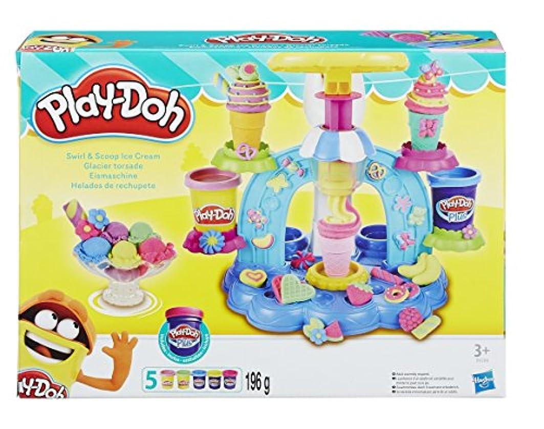 PLAY-DOH B0306EU80 Sweet Shoppe Swirl and Scoop Ice Cream Playset