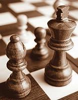 「チェス」by Jeff、アートジークレーギャラリーラップキャンバスの印刷、ハングする準備