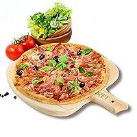 Iket 7インチ/ 8インチ/ 9インチ木製ピザピールピザ/トレイ/ピザパン