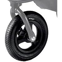 【作業不要の便利なセット】エアバギー 純正パーツ 8インチ前輪タイヤセット ブラック ※ココ専用 AB0275