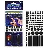 Amazon.co.jpもう、まぶしくない LED減光シール ブラック カット済 (50-80%) 米国LightDims(ライトディムズ)社製 #13120