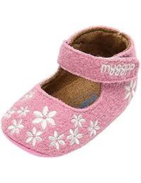 C-Princess ベビー 靴 ファーストシューズ ドレスシューズ プリンセスシューズ 小花柄 可愛い 子供 キッズ 女の子 ガールズ 室内 歩行練習 結婚式 ピンク 13cm