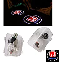 ZNYLSQ LEDドアカーテシランプ レーザーロゴライトドアウェルカムライト カーテシライト LED投影2個セット ホンダ HONDA オデッセイ