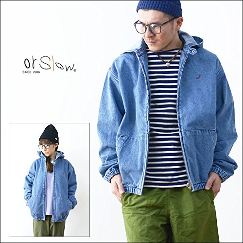 orslow [オアスロウ] HOODED BLOUSON 13OZ DENIM [03-6020-84] 2(M),84.2YEAR WASH