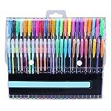 Myoffice カラーペン 48本セット パステルペン 蛍光ペン グリッターペン メタリックペン