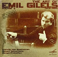 The Art of Emil Gilels Vol. 3