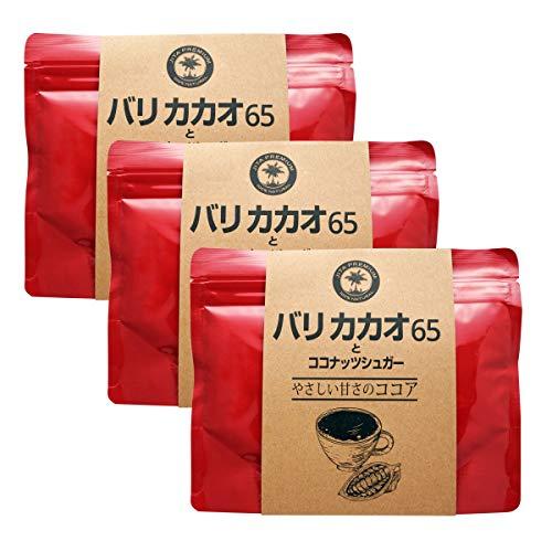 JITAコレクション バリココアとココナッツシュガー 150g (100%天然 無添加)(3個)