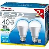 東芝LED電球 一般電球形5.6W 2P LDA6N-H-2P