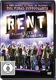 Rent: Filmed Live on Broadway (OmU) (inkl. Wendecover) [Import allemand]