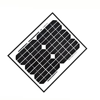 ALEKO? 10W 10ワット単結晶ソーラーパネル