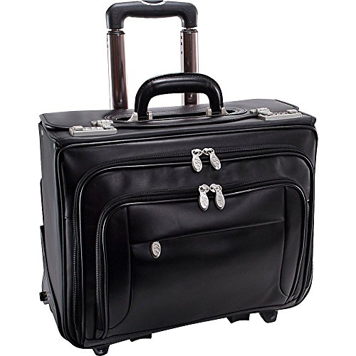 (マックレーンユーエスエー) McKlein USA メンズ バッグ キャリーバッグ Sheridan Leather Wheeled 15' Laptop Catalog Case 並行輸入品