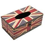 (スマイル)smile イギリス 国旗 ティッシュ ケース ボックス アンティーク レトロ 雑貨 ユニオンジャック