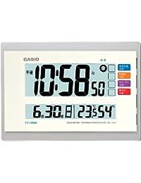 カシオ 温度・湿度計付き 生活環境お知らせ電波クロック IDL-140J-7JF