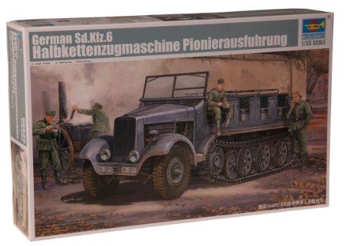 1/35 ドイツ軍 5tハーフトラック Sd.kfz.6 工兵仕様