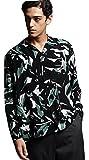 (ティーケー タケオキクチ) tk.TAKEO KIKUCHI オープンカラープリントシャツ 17083200 03(L) ブラック(119)