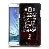 オフィシャル Liverpool Football Club Was Made For レッド・メン Samsung Galaxy A7 専用ハードバックケース