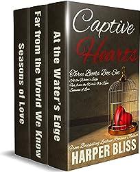 Captive Hearts: Three Lesbian Romance Novels (English Edition)