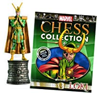 Marvel Chess Figure & Magazine #4: Loki Black Bishop