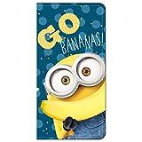 グルマンディーズ iPhone8/7(4.7インチ) ケース フリップカバー 怪盗グルーシリーズ(ミニオンズ) ボブ&バナナ mini-62a mini-62a
