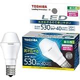 東芝 E-CORE(イー・コア) LED電球 ミニクリプトン形 5.6W (光が広がるタイプ・密閉形器具対応・断熱材施工器具対応・E17口金・小型電球40W相当・530ルーメン・昼白色) LDA6N-G-E17/S