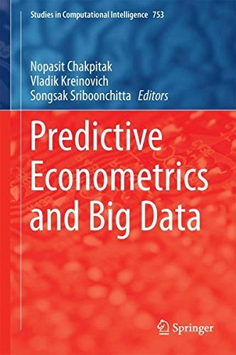 [画像:Predictive Econometrics and Big Data (Studies in Computational Intelligence)]