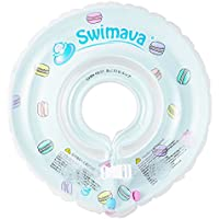 Swimava 【日本正規品60日保証】うきわ首リング(マカロングリーン) SW120MG