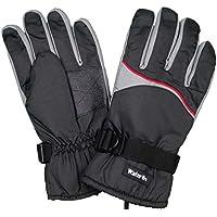 メンズ|スキーウェア[Water Win]グローブ|三層構造防水フィルム|スキーグローブ|五本指手袋|手袋|スキー手袋|防水|防寒|大人用 27cmcm