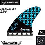 (シェイパーズ フィン) SHAPERS FIN【Carbon Flare AP02】Asher Pacey Signature Model FUTURE 3フィン